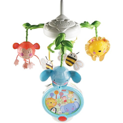 Fisher Price Fisher Price Discover 'N Grow Twinkling Lights Projection Mobile