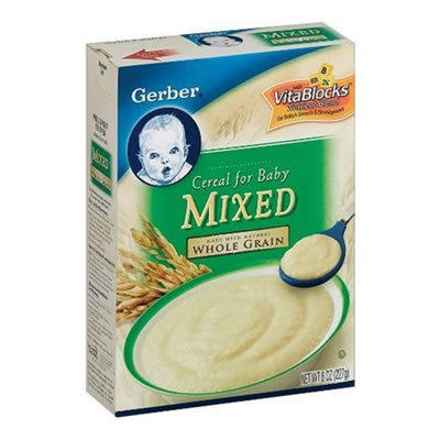Gerber Mixed Cereal