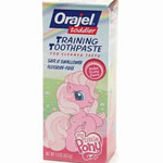 Orajel Toddler Training Toothpaste, Pinky Fruity Flavor