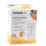 Medela Pump & Save Breastmilk Bags - 50 count
