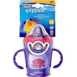 Tommee Tippee 1-Pack Explora Truly Spill Proof Trainer Cup 9oz - 6m+ - Purple  (BPA FREE)