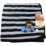 Carter's Cuddle Me Blanket -Blue