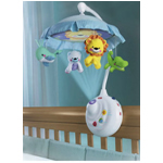 Fisher Price - 2-in-1 Projection Crib Mobile, Precious Planet