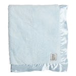 Little Giraffe Chenille Blanket - Blue