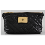 Tory Burch Ski Vintage Small Quilted Cosmetic Case